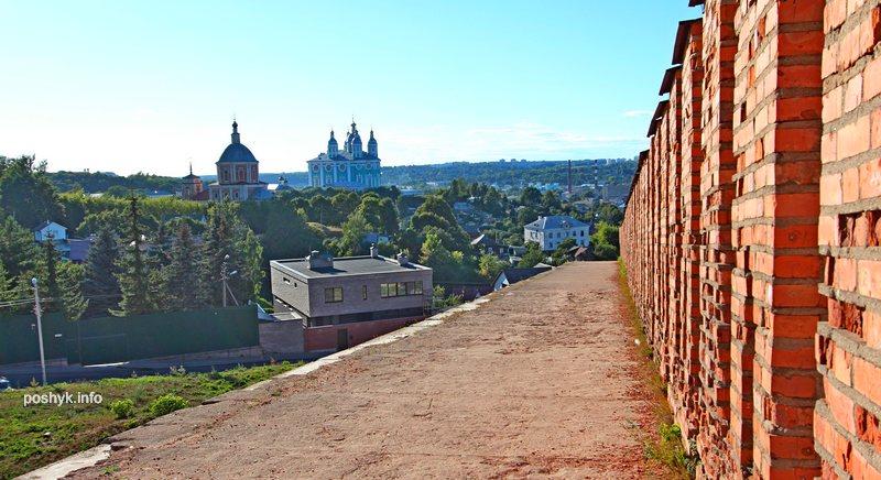 вид на город Смоленск