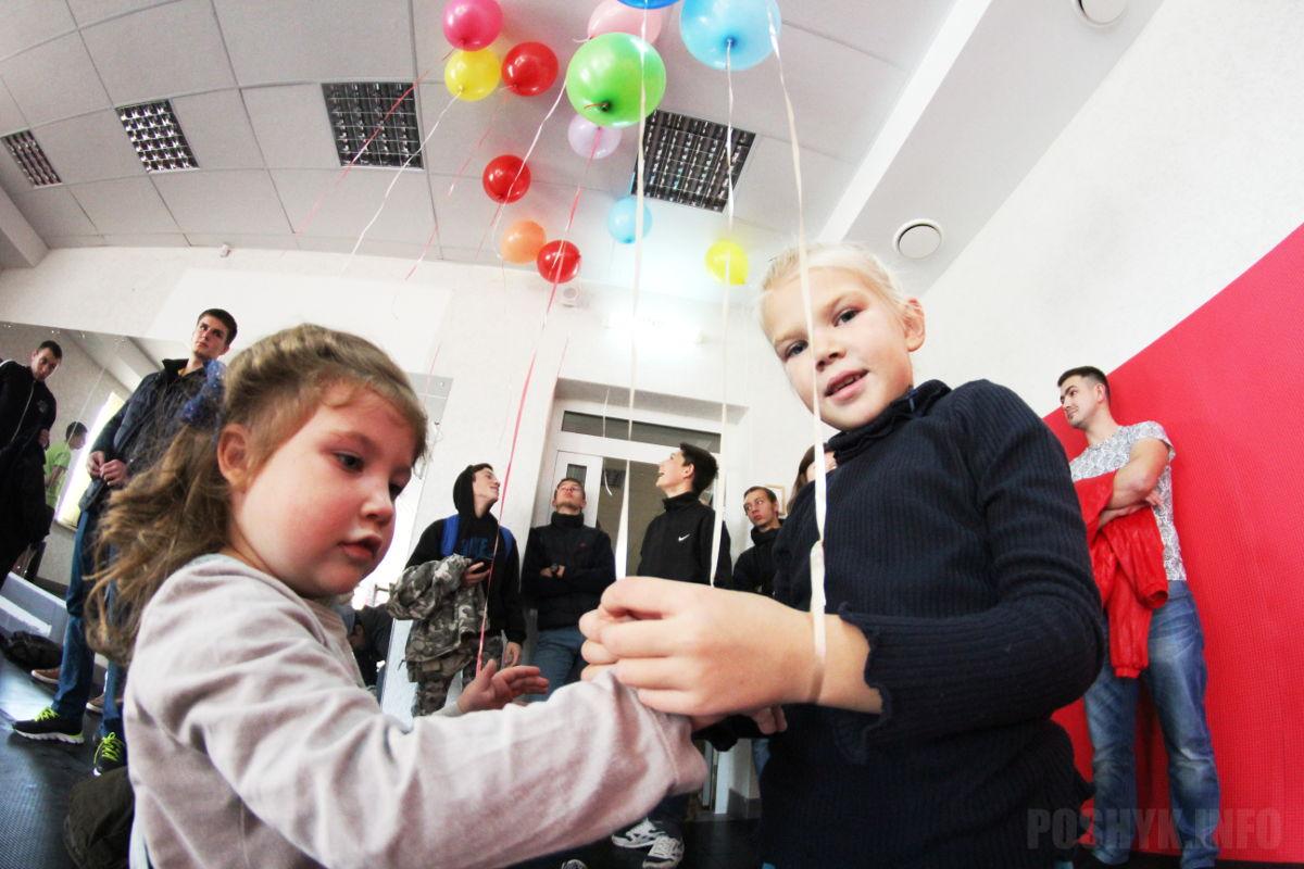 открытие ММА-зала Котовский