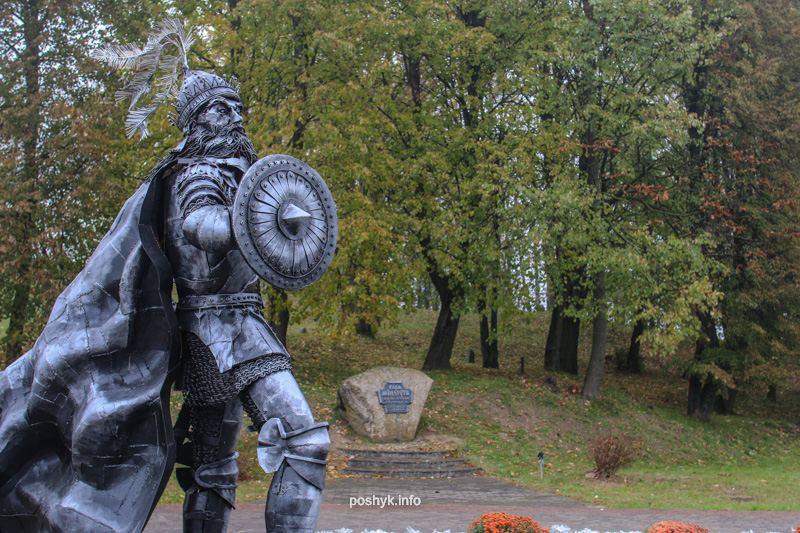 миндовг памятник