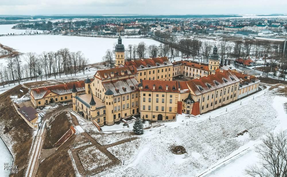 Дворец Радзивиллов в Несвиже: фото, история, даты
