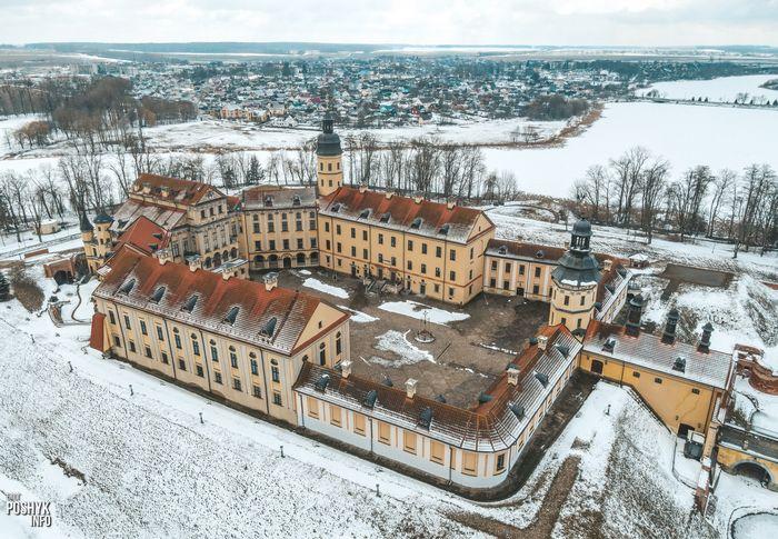 История несвижского дворца