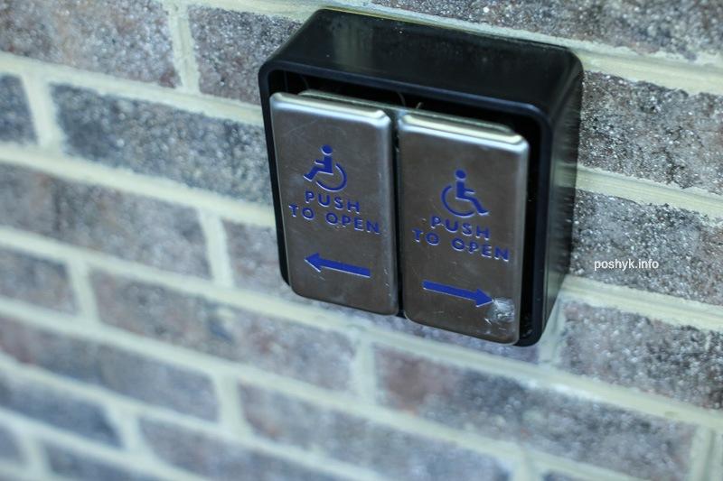 кнопки открывания дверей для инвалидов