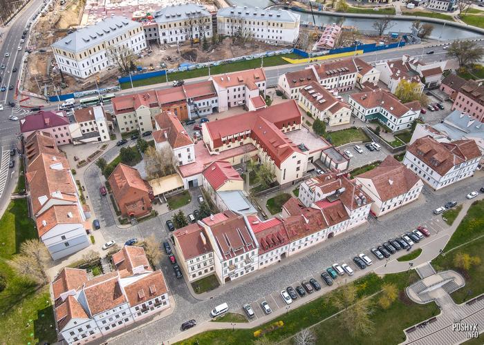 Троицкое предместье в Минске фото