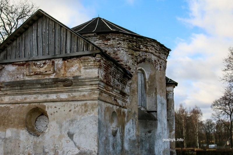 Кальвинский сбор руины