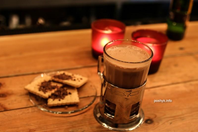 коктель с какао