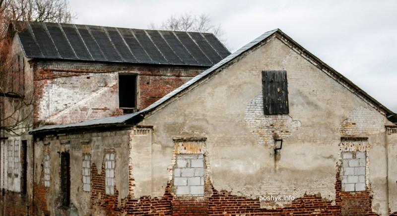 руины лошицкого парка