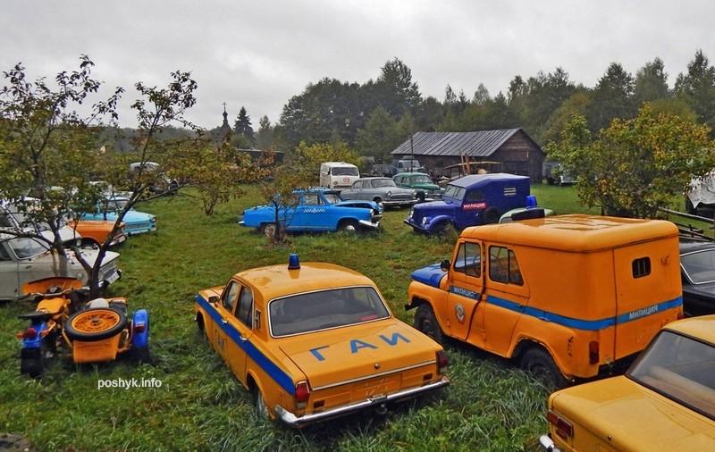 Музей ретро-автомобилей Забродье