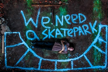stop motion we need a skatepark