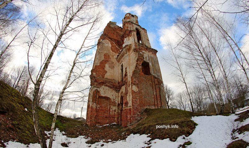 губино руины церкви