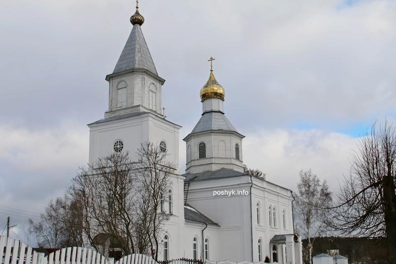 церковь в Логойске