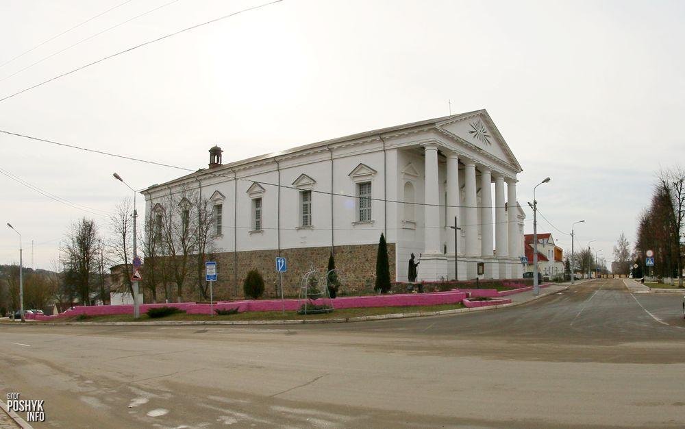 Костел в Воложине