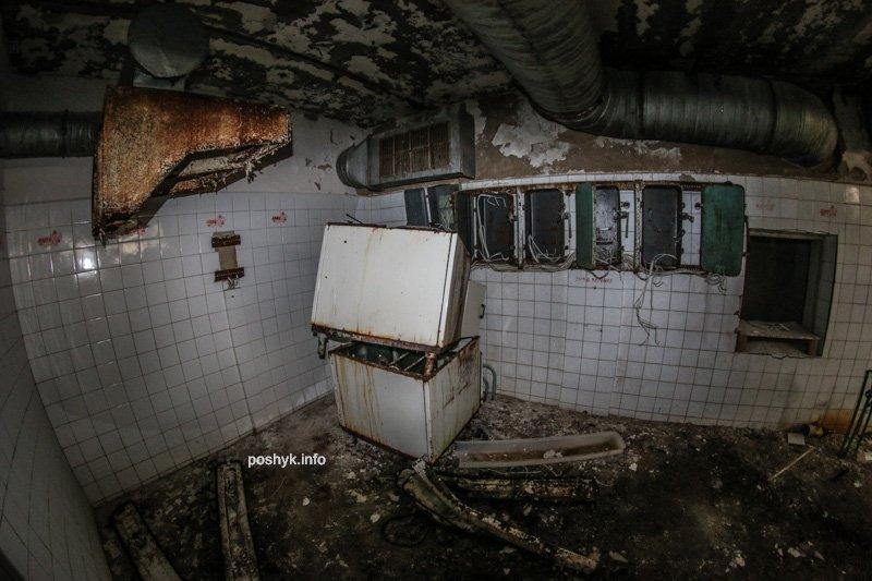 заброшенная кухня фотография