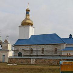 Успенская церковь в местечке Новый Свержень