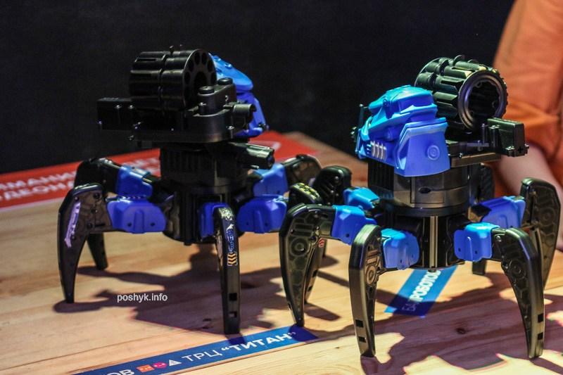 бал роботов в минске титан