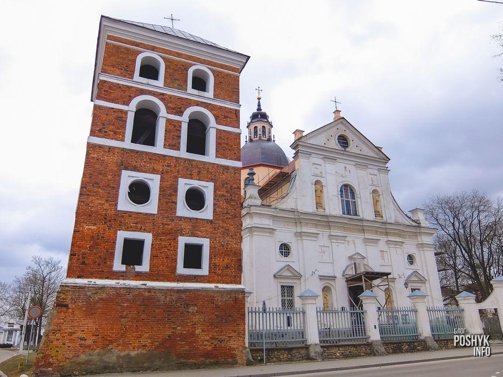 Замковая башня в Несвиже