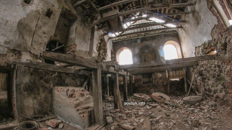 ruins brovar bobovny