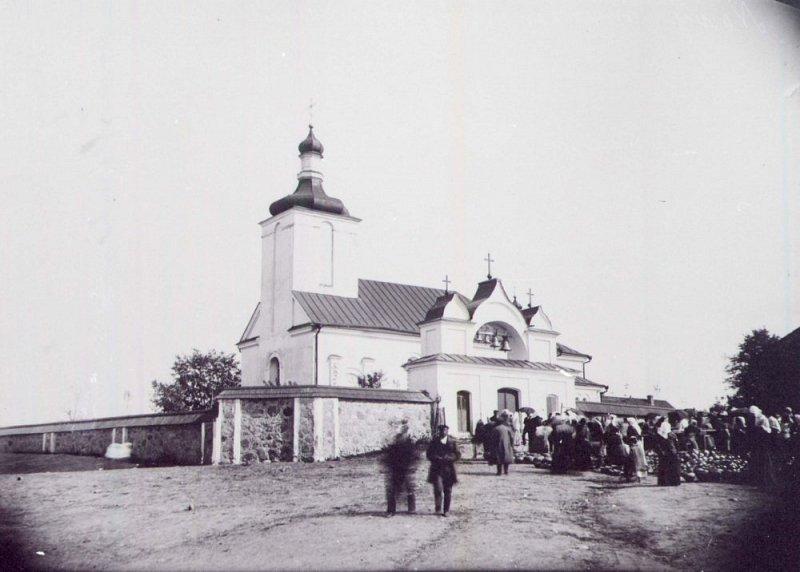 Успенская церковь старое фото