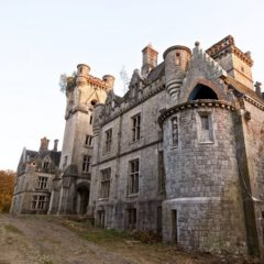 Заброшенный замок Сhateau Miranda в Бельгии