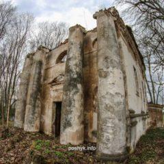 Рованичи, руины костела святого Антония