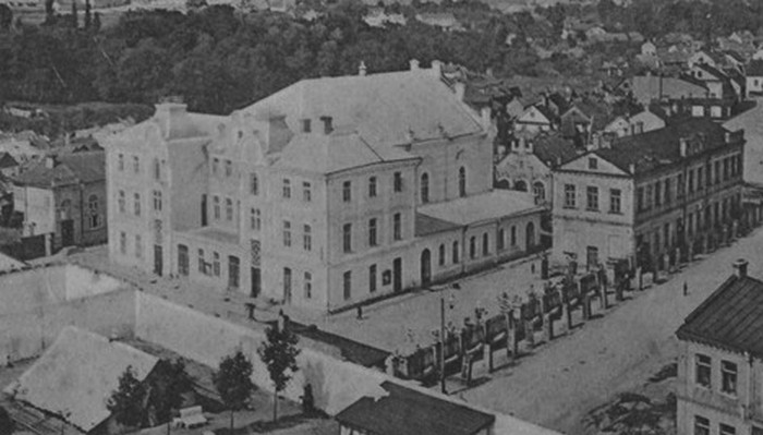 Синагога в Гродно старые фото