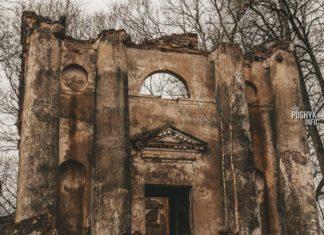 Заброшенный костел Святого Антония в Рованичах