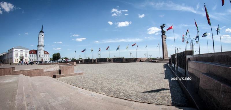 Площадь Славы в Могилеве
