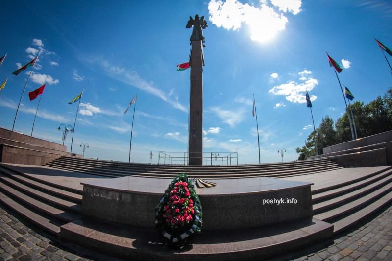 Советская площадь в Могилеве
