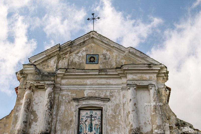 церковь Крестовоздвиженская Вистычи