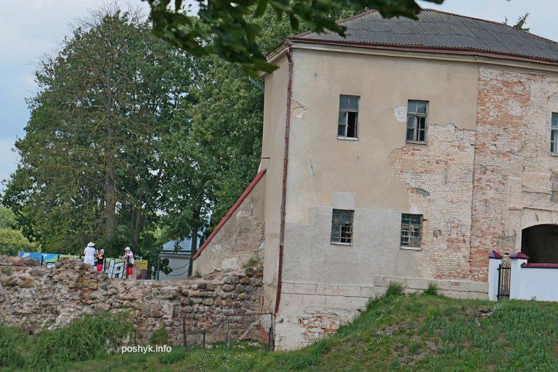общий вид замок старый гродно