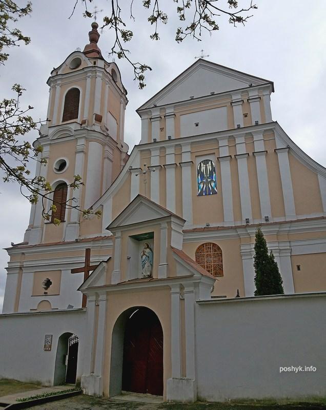 Костел Девы Марии Ангельской Гродно