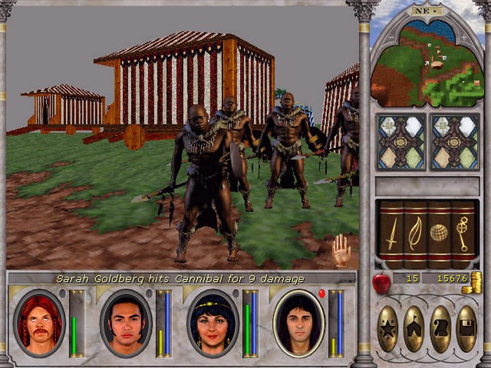 Might and Magic VI The Mandate of Heaven poshyk