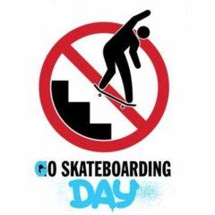 go skateboarding day День скейтбординга