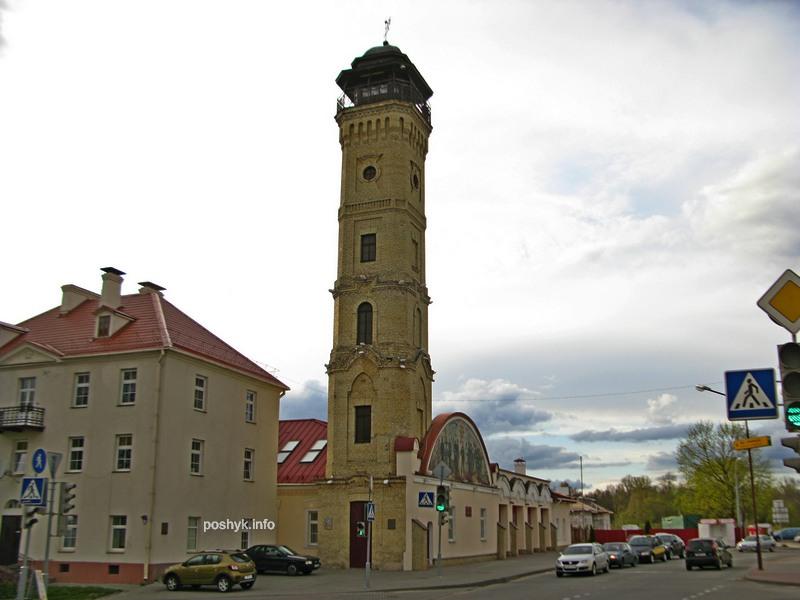 Пожарная башня в Гродно