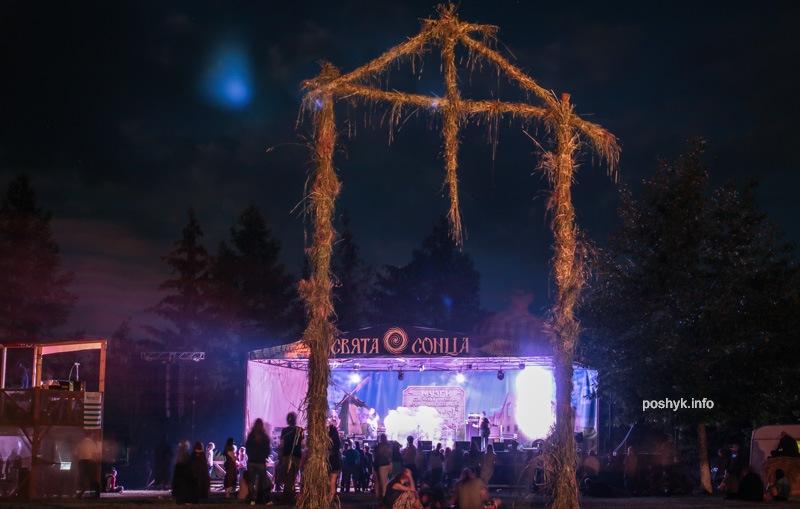 ночные фотографии фестиваля сонца