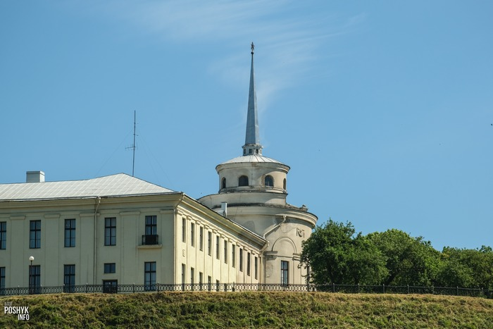 Новый замок в Гродно история