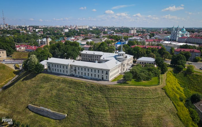 Новый замок в Гродно музей