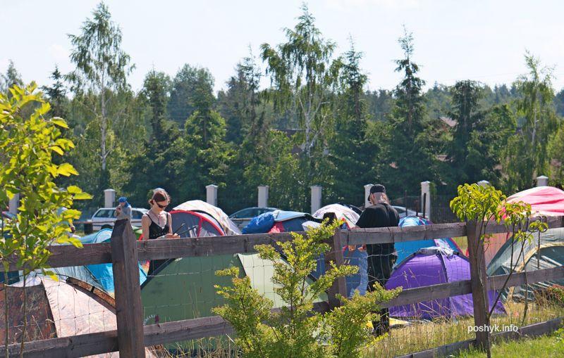 палаточный городок 2