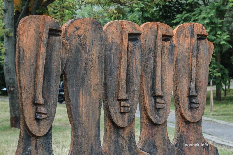 скульптуры арт острова