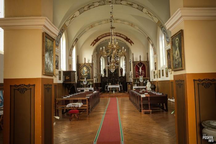 Троицкий костел в Коссово