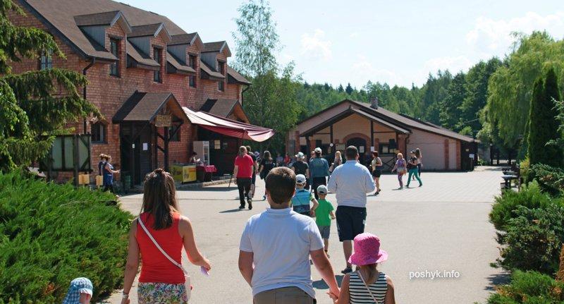 туристы на фестивале