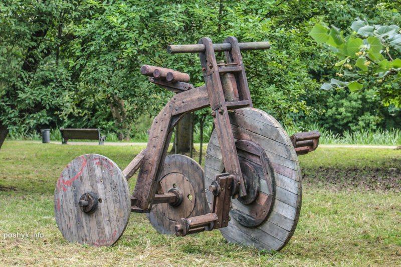 велосипед арт объекты