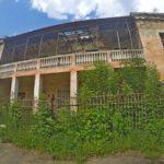 Заброшенный детский сад на улице Чеботарева