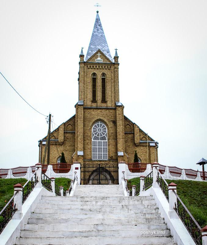 Костел Красное