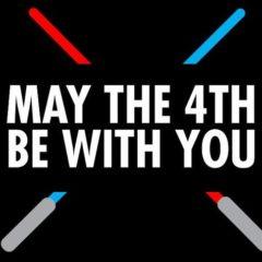 Да пребудет с тобой Сила (#StarWarsDay) 4 мая