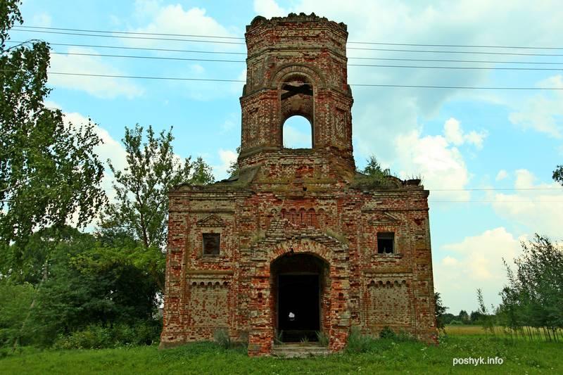 высокое руины церкви