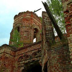 Высокое, руины Церкви святого Ильи