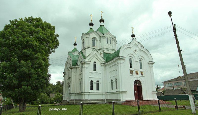 церковь пророка ильи бешенковичи