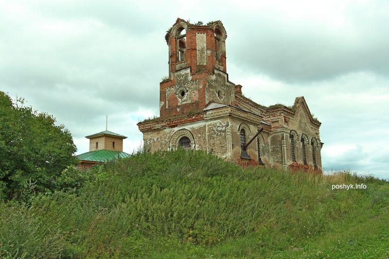 руины церкви Бешенковичи