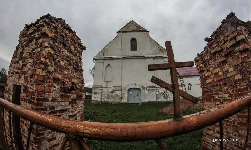 успенская церковь плебань