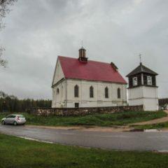 Церковь Успенская в деревне Плебань